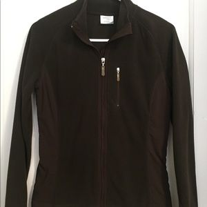 Fleece zip up size small